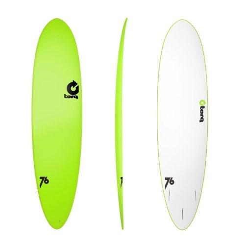 Surfboard TORQ Softboard 7.6 Funboard Green
