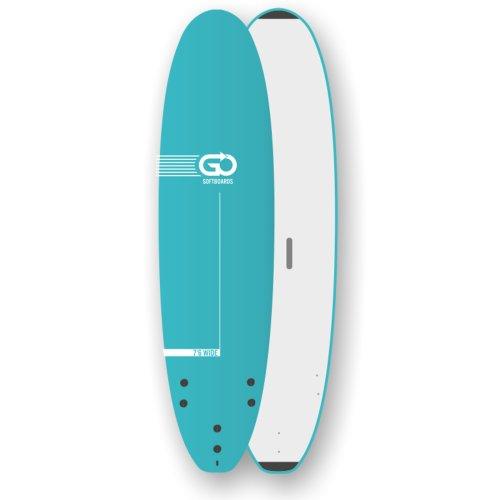 GO Softboard School Surfboard 7.6 wide body