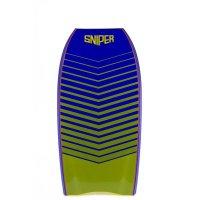 SNIPER Bodyboard Vyrus PE 40 Chevron Gelb