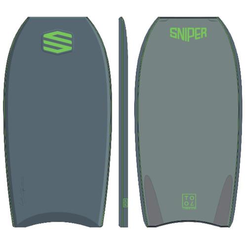 SNIPER Bodyboard Alex Uranga Tool XPE 41,5 Grey