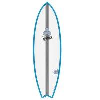 Surfboard CHANNEL ISLANDS X-lite Pod Mod 6.2 blau