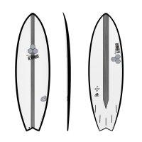 Surfboard CHANNEL ISLANDS X-lite Pod Mod 6.6 black
