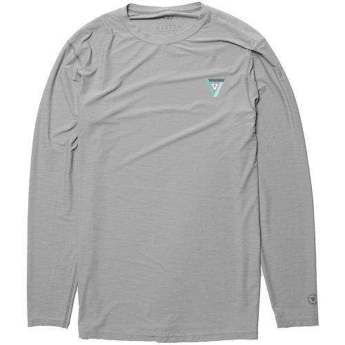 VISSLA twisted lycra long sleeve grey Size M