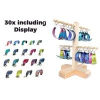 Key Chain 30 pcs Kitesurf Kites incl display