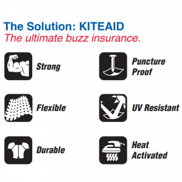 KiteAid Kite Leading Edge & Strut Repair Kit