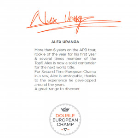 SNIPER Bodyboard Alex Uranga Tool PP 41,5 Grau