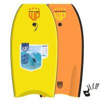 Wave Power Bodyboard Woop 42 Gelb Orange