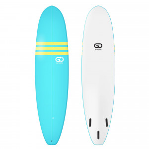 GO Softboard 7.6 Soft Top Surfboard Blau