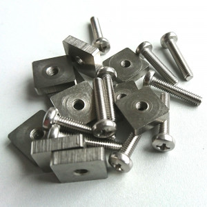 10 Screws M4x20mm and washer for US Box fins
