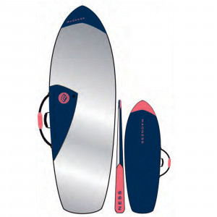 MADNESS Boardbag PE 6.4 Fish Blue Red