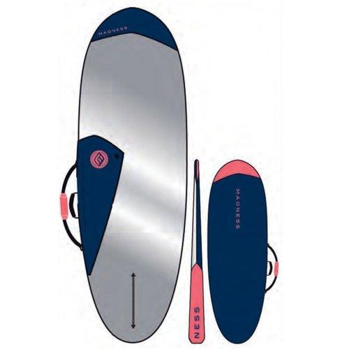MADNESS Boardbag PE 6.0 Hybrid Blue Red