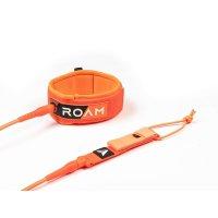 ROAM Surfboard Leash Premium 9.0 Knie 7mm Orange