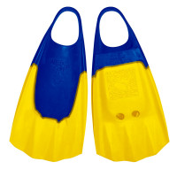 Bodyboard Fins WAVE GRIPPER ML 43-44 blue yellow