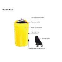 OverBoard wasserdichter Packsack 5 Liter Gelb