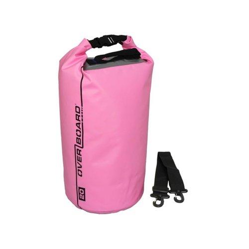 Overboard Dry Tube Bag 20 Liter pink