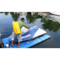 Overboard Dry Tube Bag 40 Liter blue