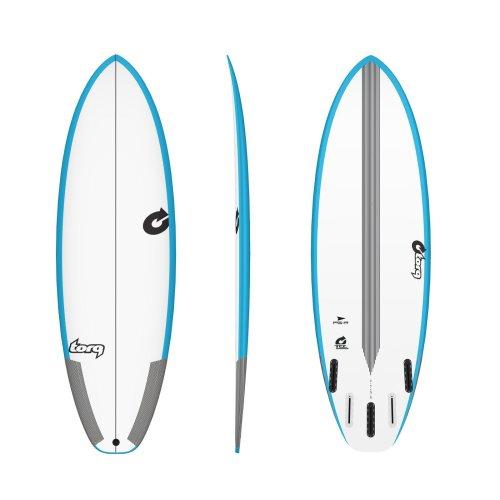 Surfboard TORQ TEC PG-R 5.8 Rail blue