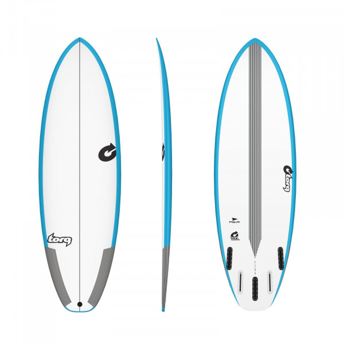 Surfboard TORQ TEC PG-R 6.0 Rail blue