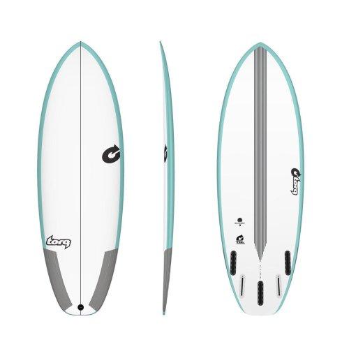 Surfboard TORQ Epoxy TEC Summer 5  5.4 Rail Grün