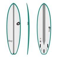 Surfboard TORQ TEC BigBoy23  6.6 rail green