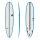 Surfboard TORQ Epoxy TEC M2  6.6 rail blue