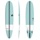Surfboard TORQ Epoxy TEC The Don XL 9.0 Grün