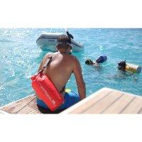 OverBoard wasserdichter Packsack 12 Liter Blau