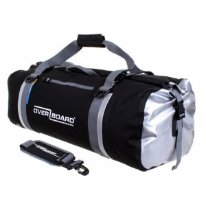 Overboard Waterproof Duffel Bag 60 Liters Black